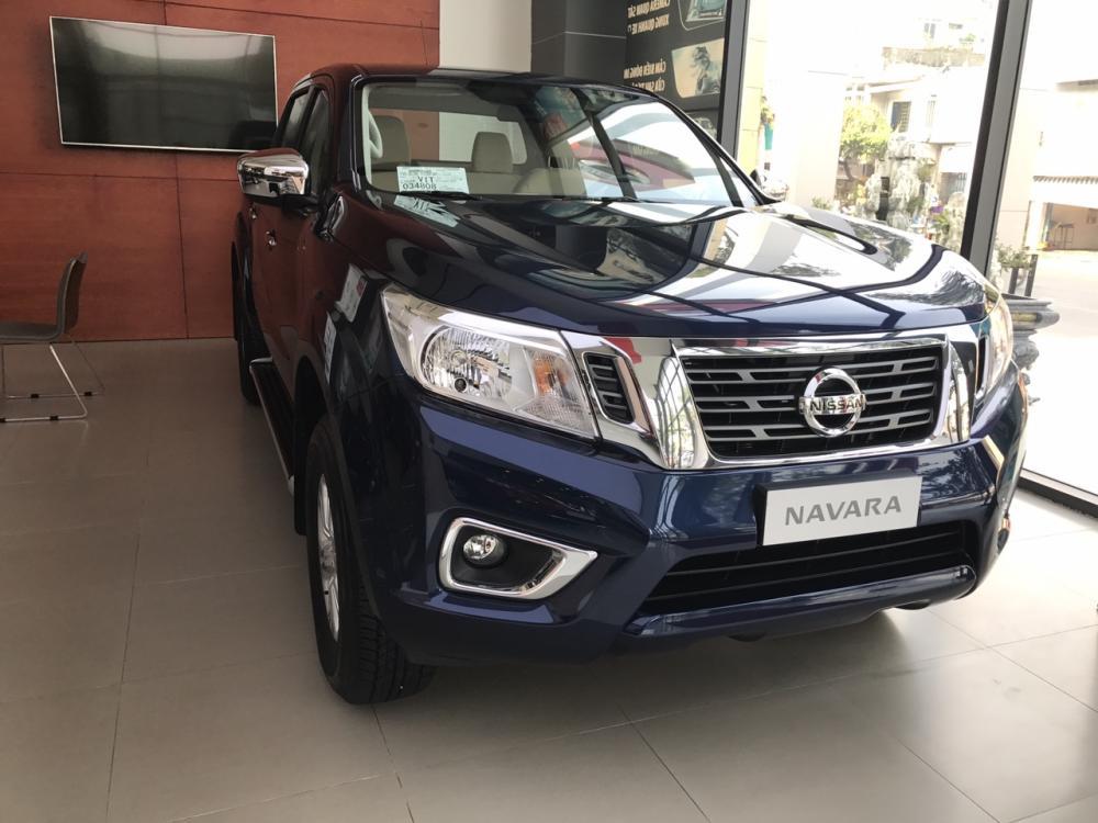 Bán Nissan Navara EL đời 2019, màu xanh lam, nhập khẩu