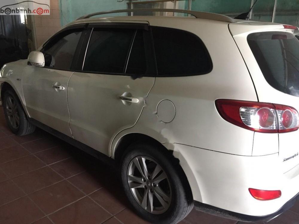 Cần bán xe Hyundai Santa Fe MLX 2.0L sản xuất năm 2009, màu trắng, xe nhập
