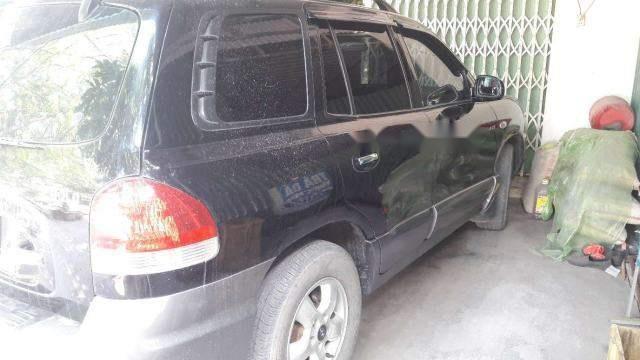 Cần bán Hyundai Santa Fe sản xuất 2005, màu đen, nhập khẩu nguyên chiếc, giá 282tr