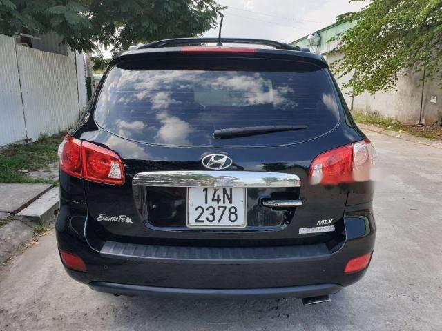 Bán Hyundai Santa Fe 2008, màu đen số tự động