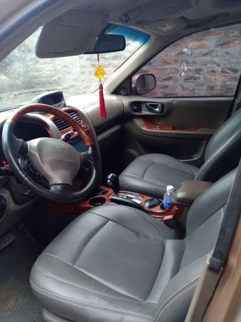Cần bán lại xe Hyundai Santa Fe đời 2003, màu nâu, xe nhập, số tự động