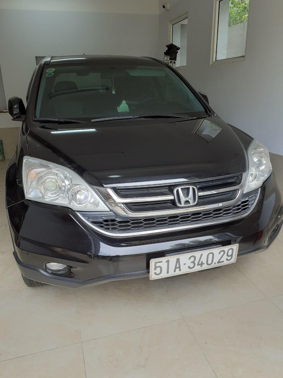Bán Honda CRV 2.4AT, màu đen, xe gia đình, 650tr