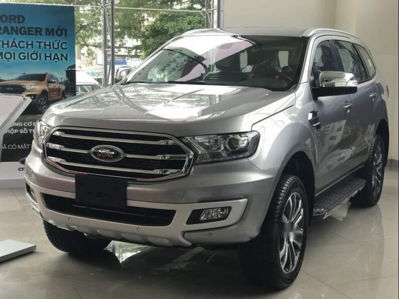 Cần bán xe Ford Everest đời 2019, màu xám, nhập khẩu