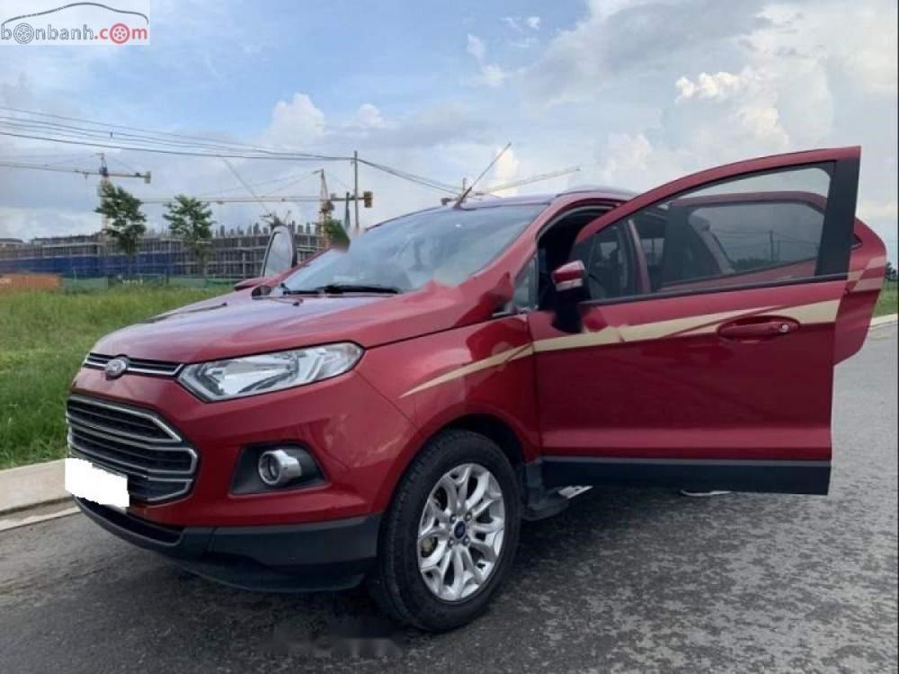 Cần bán lại xe Ford EcoSport sản xuất năm 2017, màu đỏ