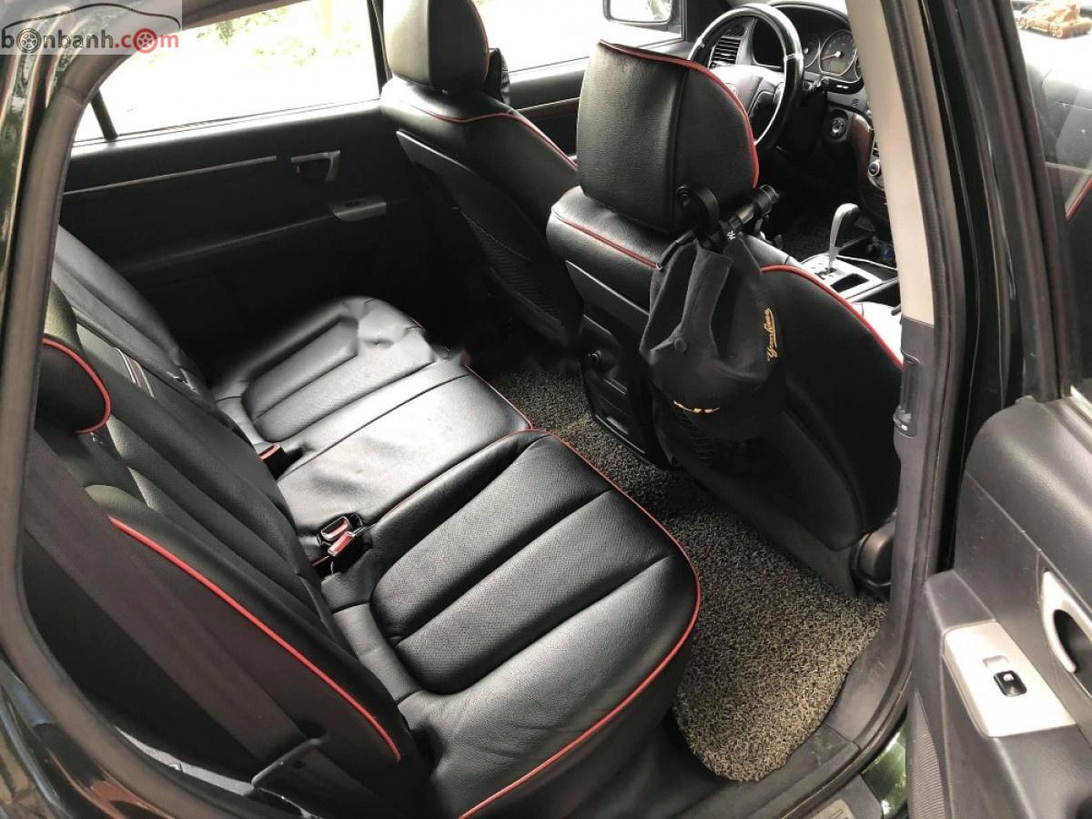 Cần bán xe Hyundai Santa Fe MLX năm 2009, màu xanh lam, xe nhập chính chủ