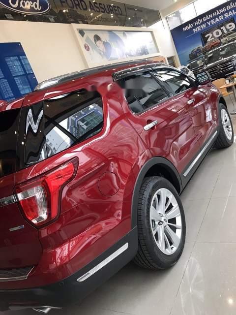 Bán xe Ford Explorer đời 2019, màu đỏ, nhập khẩu