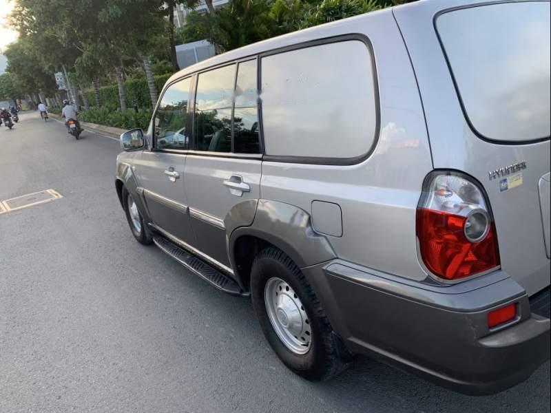 Bán Hyundai Terracan đời 2003, màu xám, nhập khẩu nguyên chiếc, 175 triệu