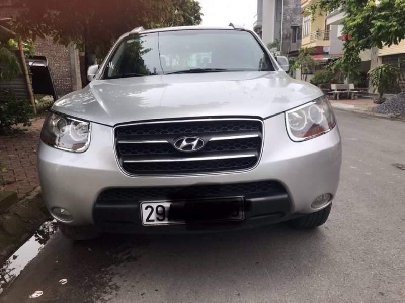 Bán Hyundai Santa Fe sản xuất 2007, màu bạc, nhập khẩu