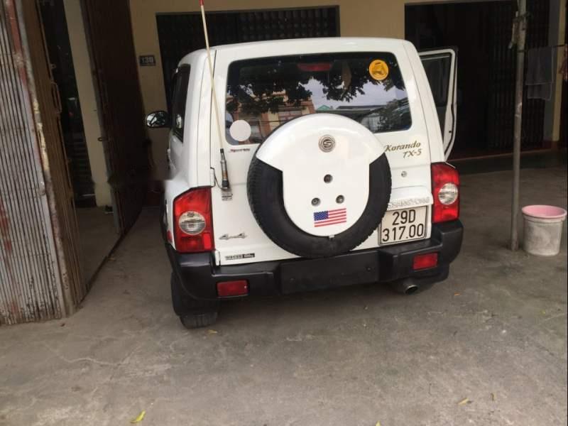 Cần bán gấp Ssangyong Korando sản xuất năm 2009, màu trắng, xe nhập