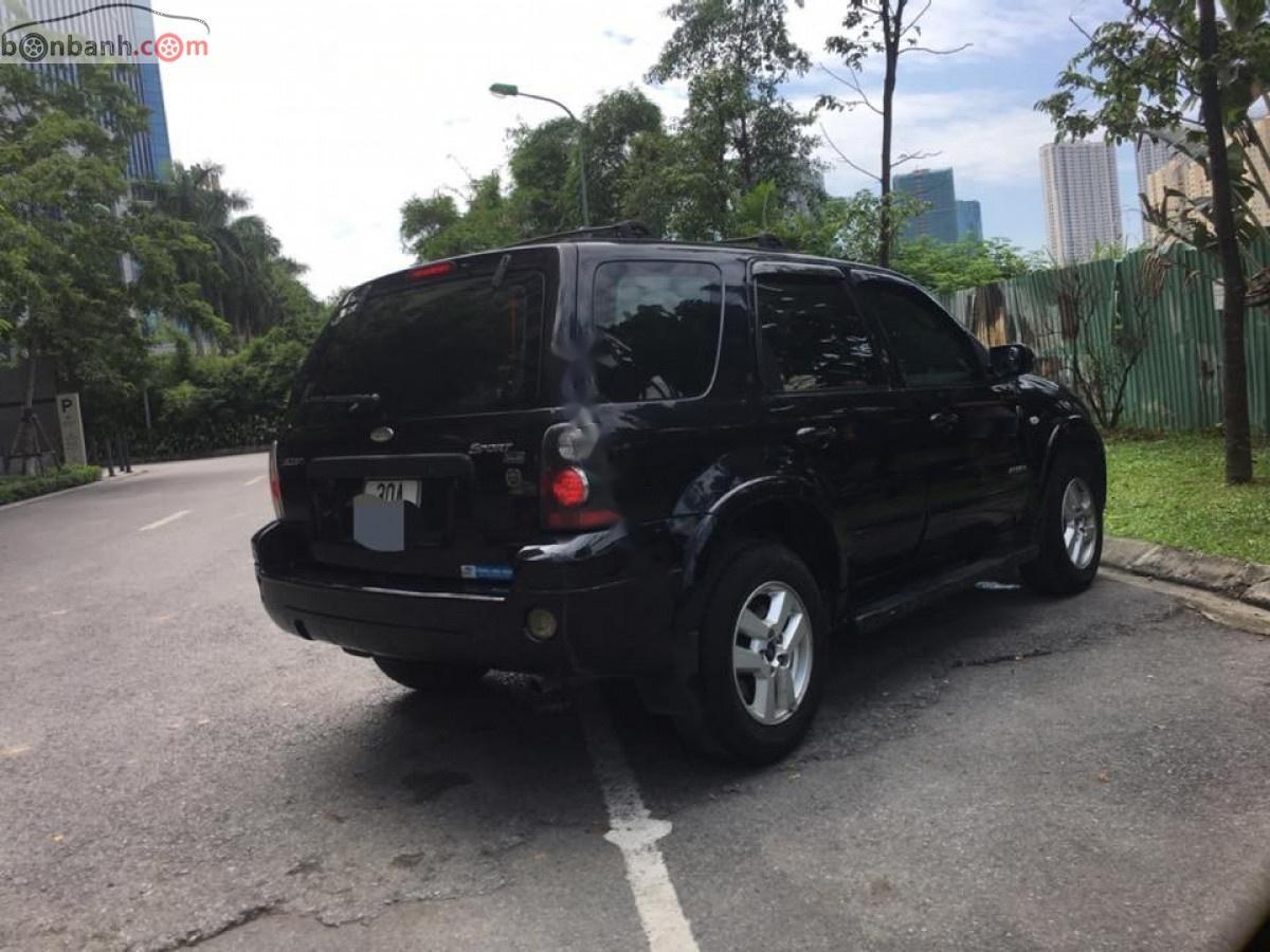 Bán Ford Escape năm 2008, màu đen, xe nhập chính chủ