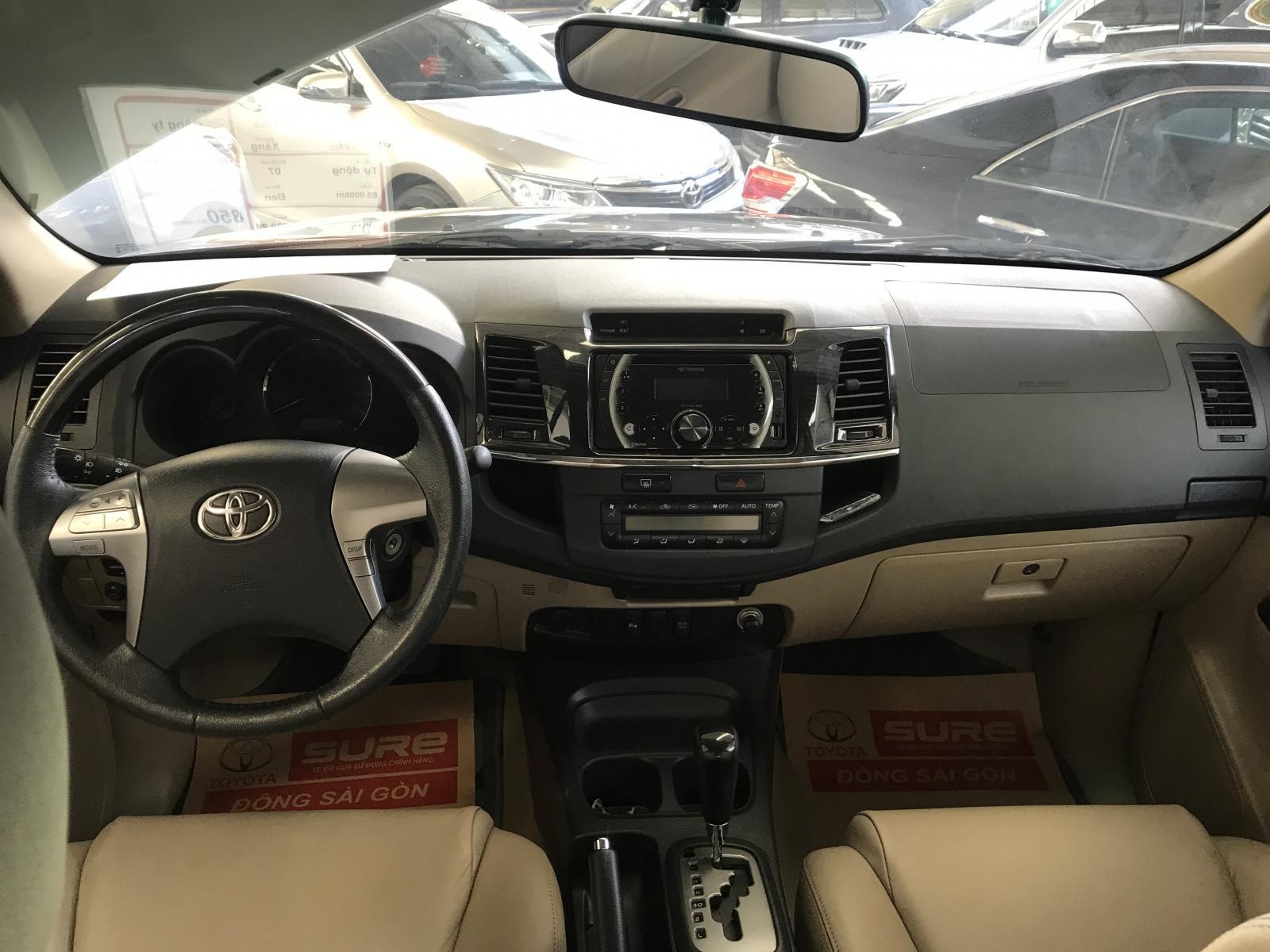 Bán xe Toyota Fortuner V đời 2016, màu đen số tự động