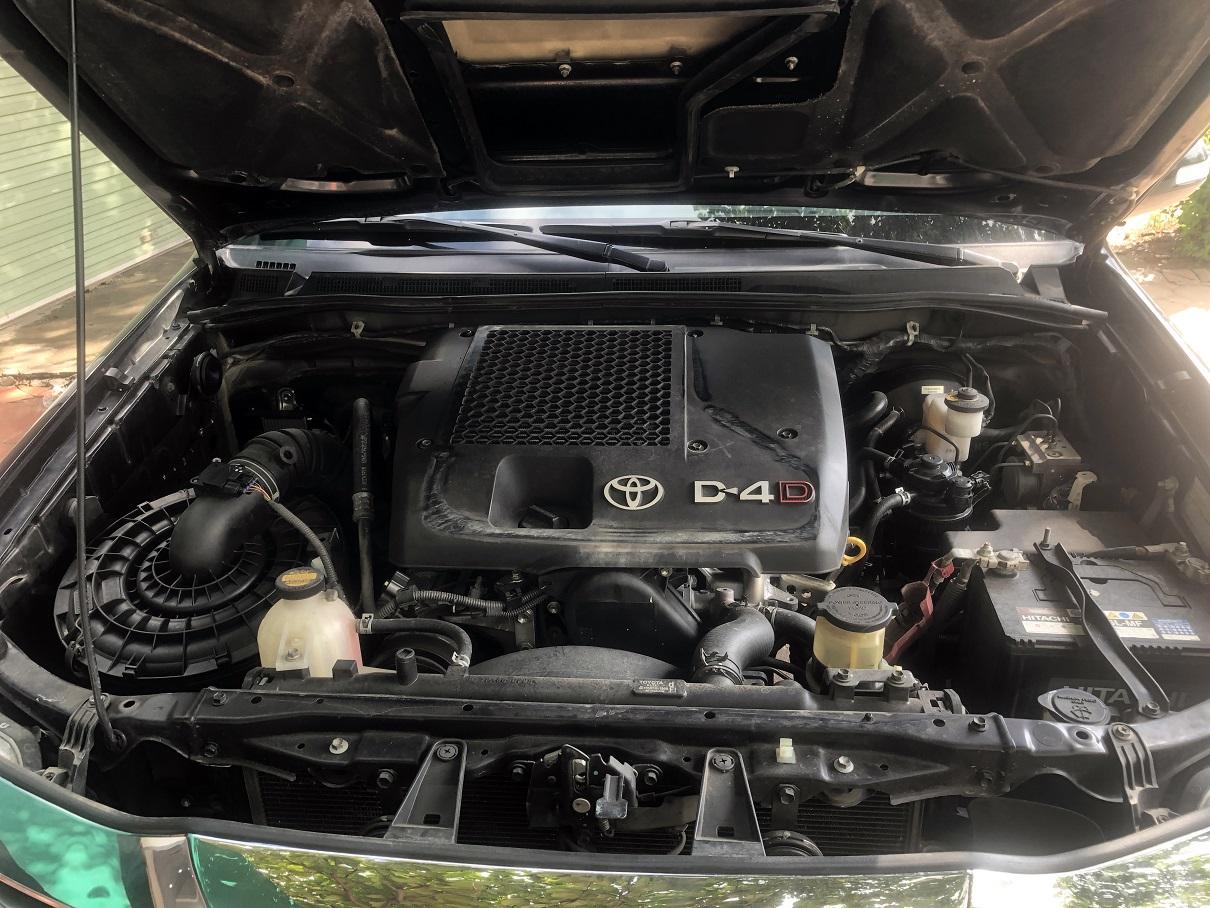 Bán xe Toyota Fortuner 2.5 G sản xuất năm 2015, màu đen biển Hà Nội