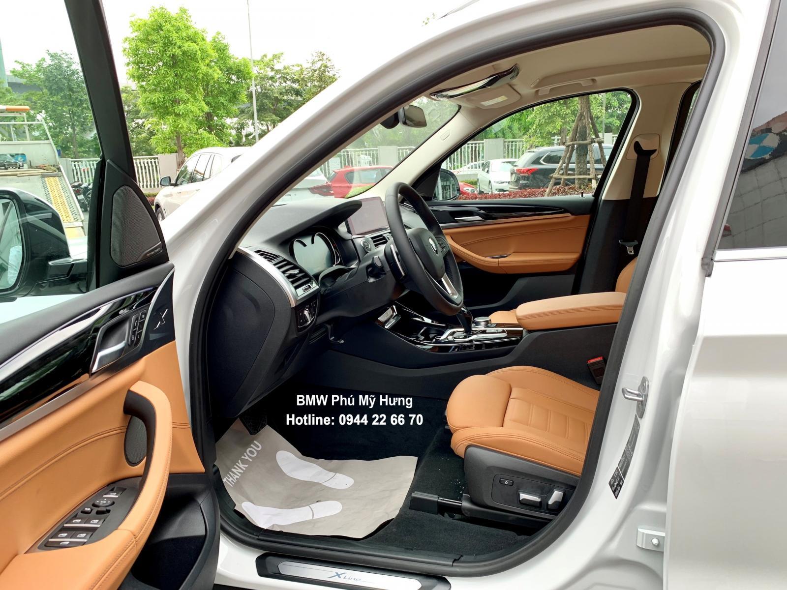 BMW X3 2019 miễn phí 3 năm bảo dưỡng, tặng bảo hiểm vật chất, đặt cọc sớm có xe giao ngay