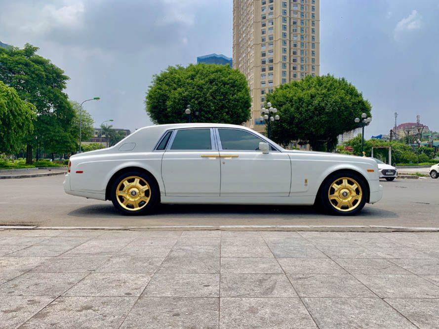 Cần bán xe Rolls-Royce Phantom Series VII đời 2008, màu trắng, xe nhập