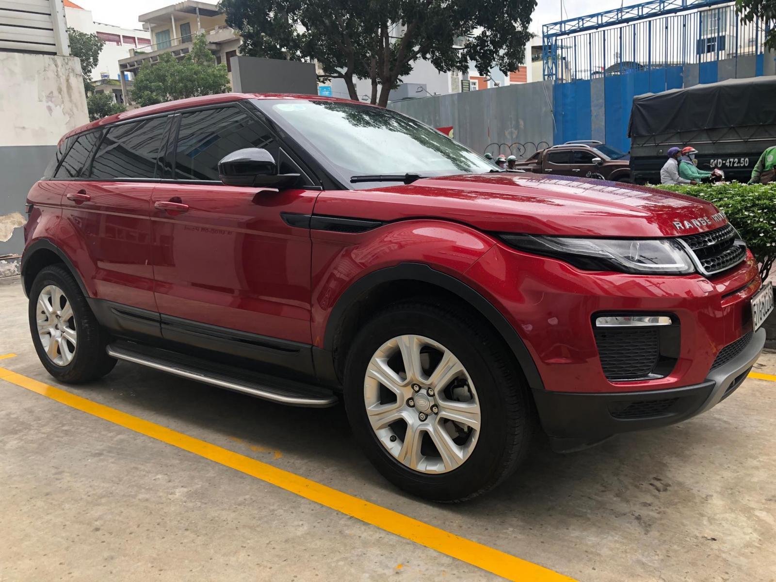 Bán Range Rover Evoque màu đỏ, xám, xanh đen 2017 - 0918842662, giá tốt nhất