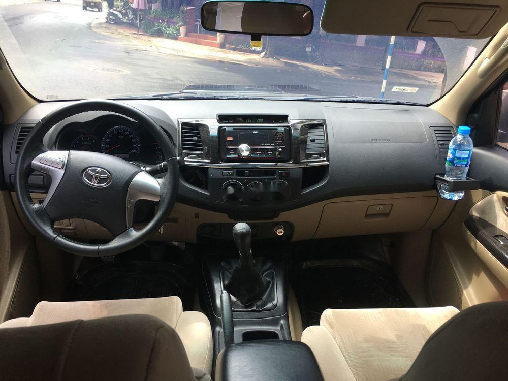 Gia đình bán Toyota Fortuner đời 2014, màu đen