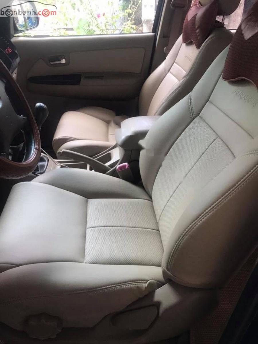 Chính chủ bán xe Toyota Fortuner 2.5G năm sản xuất 2010, màu đen