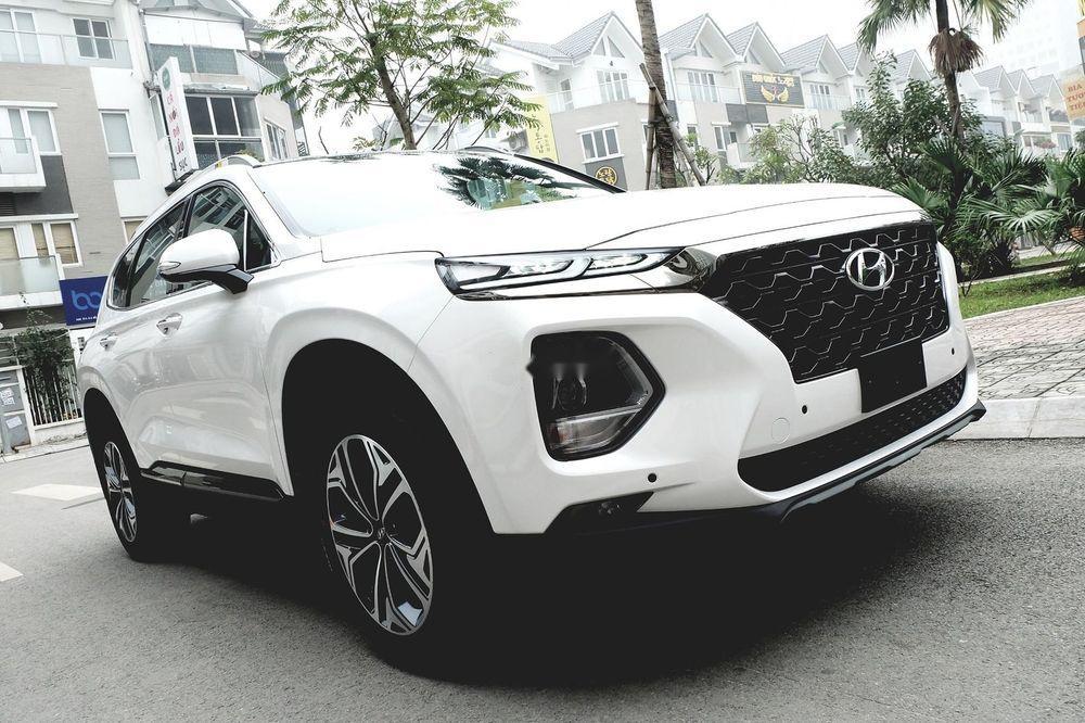 Cần bán Hyundai Santa Fe đời 2019, màu trắng