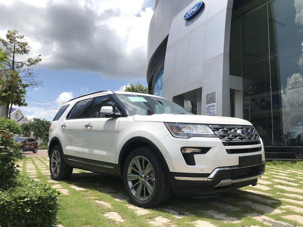 Bán Ford Explorer 2019, màu trắng, nhập khẩu nguyên chiếc