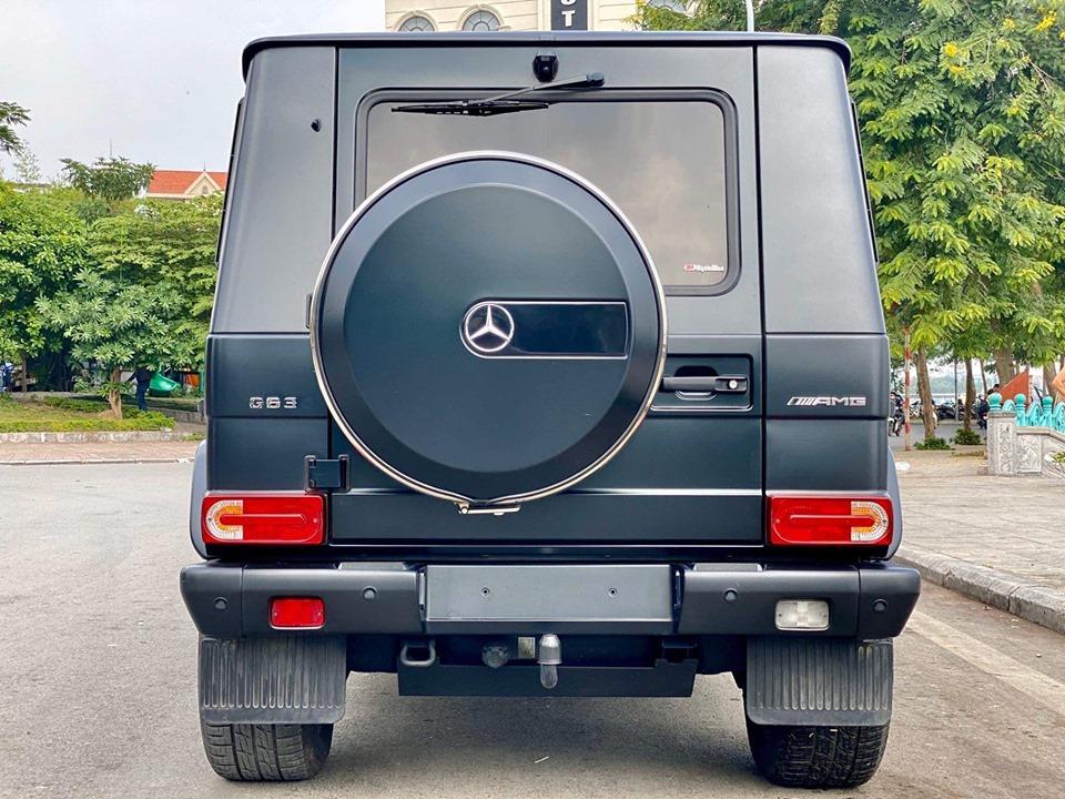Bán ô tô Mercedes G500 đời 2017, màu đen, nhập khẩu