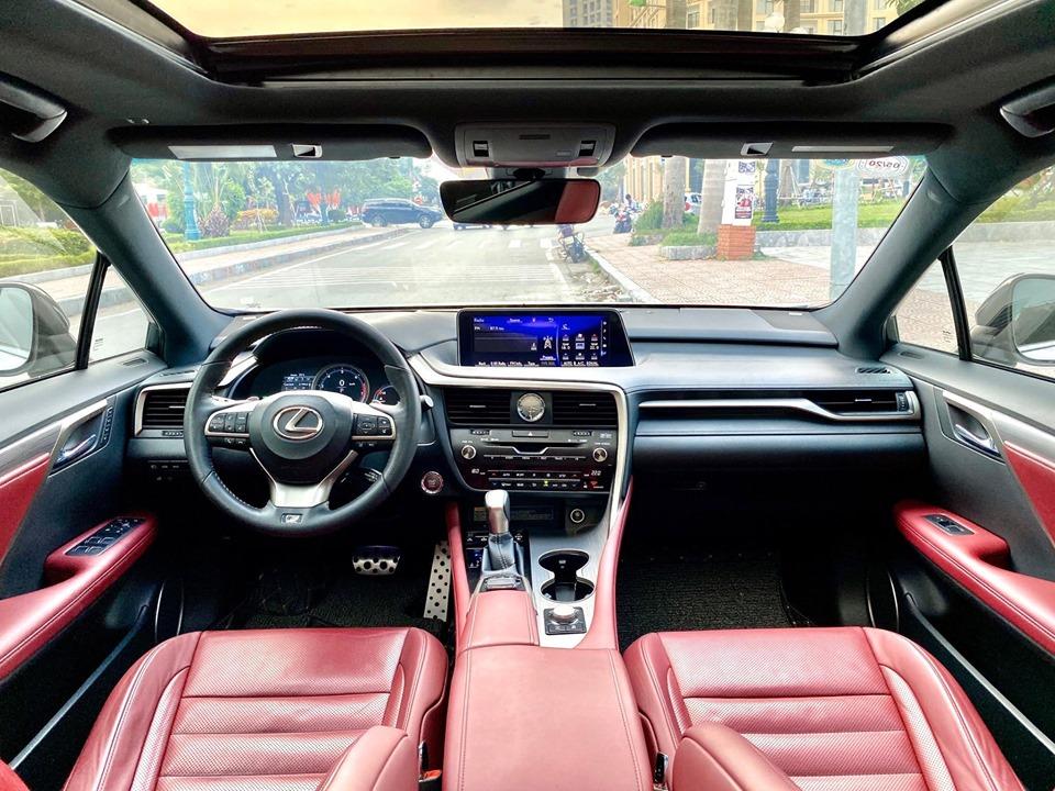 Bán xe Lexus RX350 F - Sport năm 2016, màu trắng, xe nhập