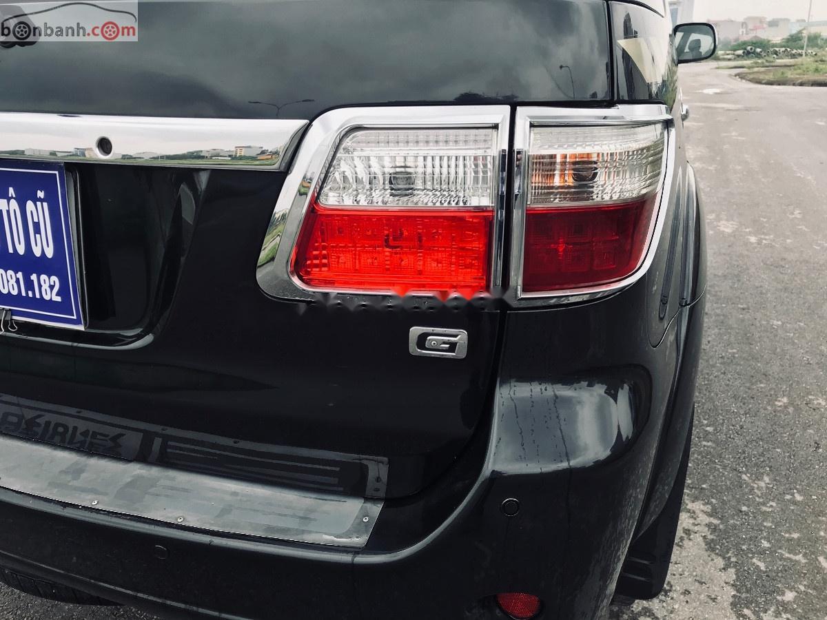 Bán Toyota Fortuner sản xuất  2011, màu đen, giá tốt