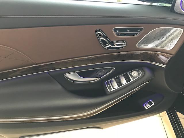Bán Mercedes S400 Maybach màu đen, nội thất nâu, xe sản xuất 2016, đăng ký 2017