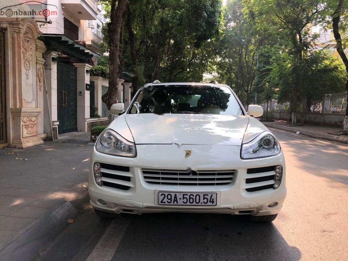 Bán ô tô Porsche Cayenne 2008, màu trắng, xe nhập chính hãng