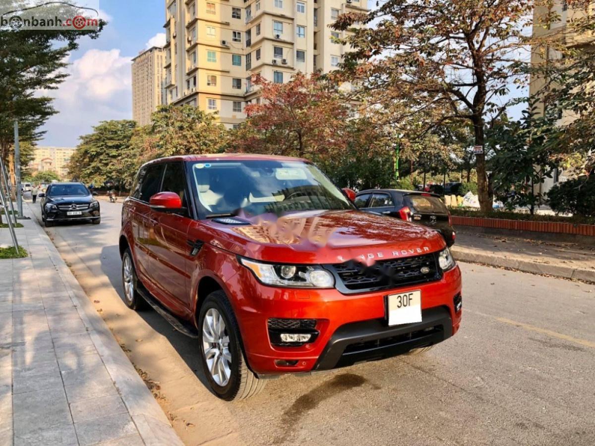 Bán LandRover Range Rover sản xuất 2013, màu đỏ, nhập khẩu nguyên chiếc