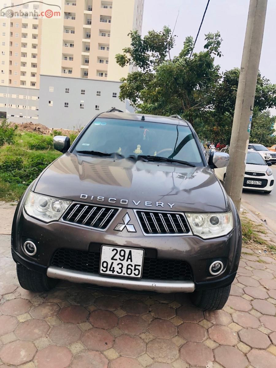 Cần bán gấp Mitsubishi Pajero Sport 2012, màu nâu số tự động, 535tr