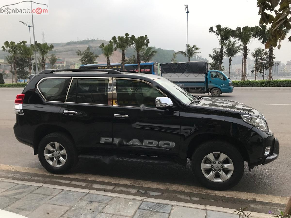 Cần bán gấp Toyota Prado sản xuất năm 2011, màu đen, nhập khẩu nguyên chiếc