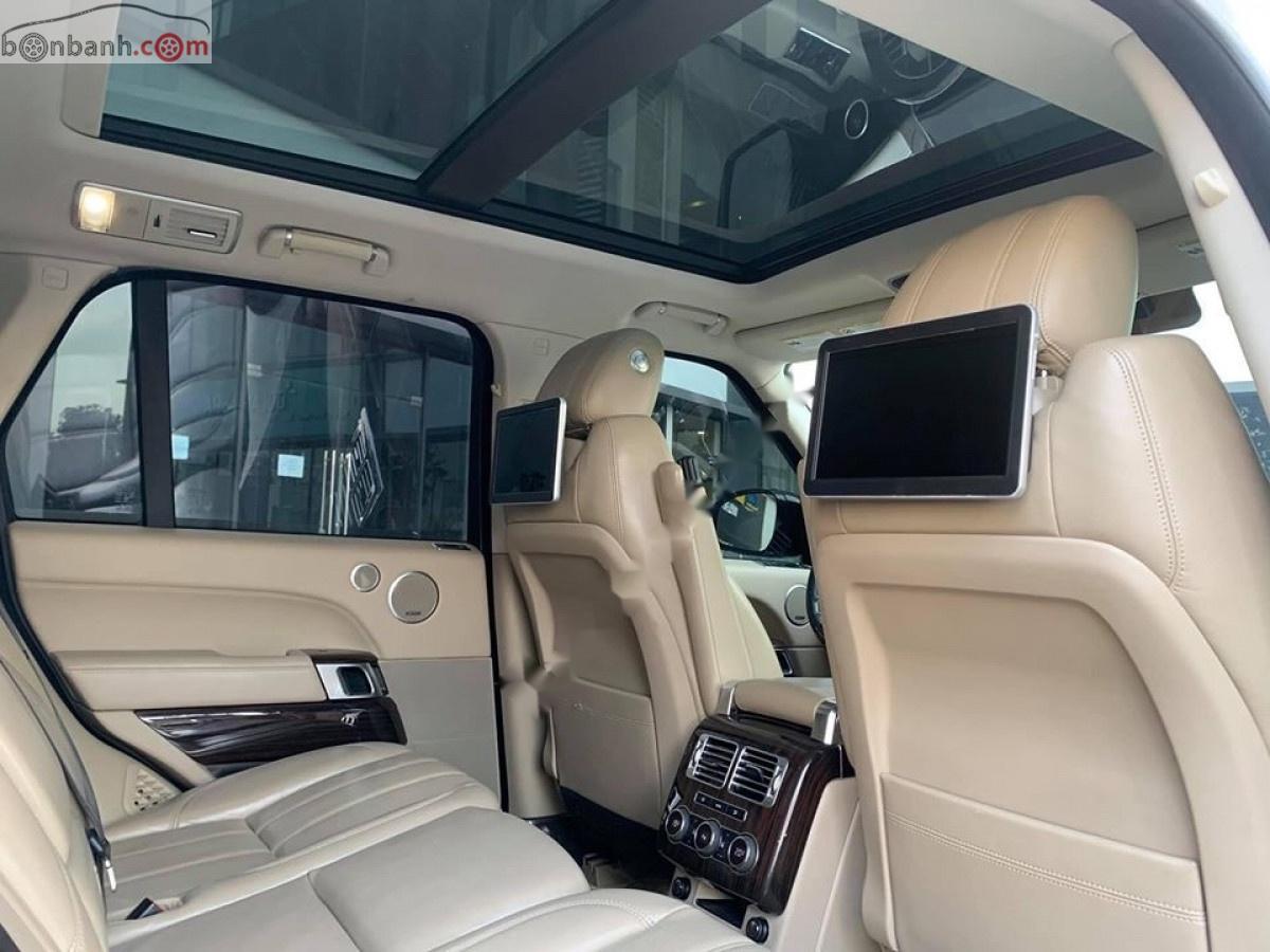 Bán LandRover Range Rover HSE 3.0 đời 2015, màu trắng, xe nhập