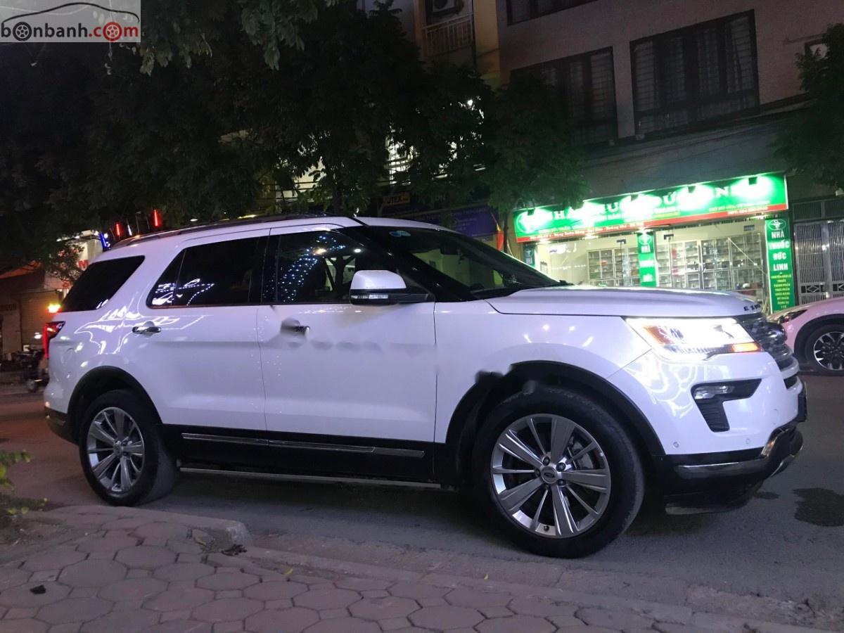 Bán Ford Explorer năm 2018, màu trắng, xe nhập