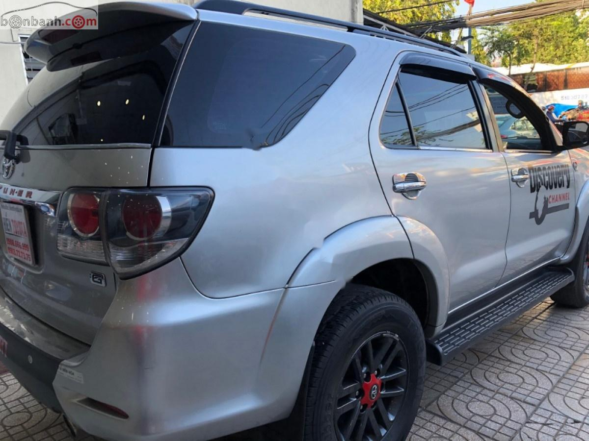 Bán xe Toyota Fortuner 2.5G năm sản xuất 2016, màu bạc như mới, giá tốt