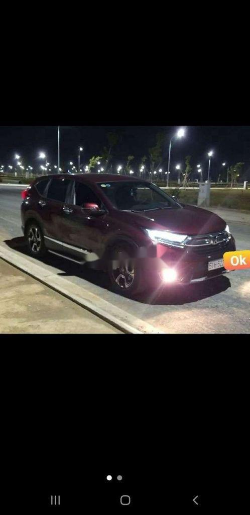 Bán Honda CR V năm sản xuất 2019, màu đỏ, nhập khẩu