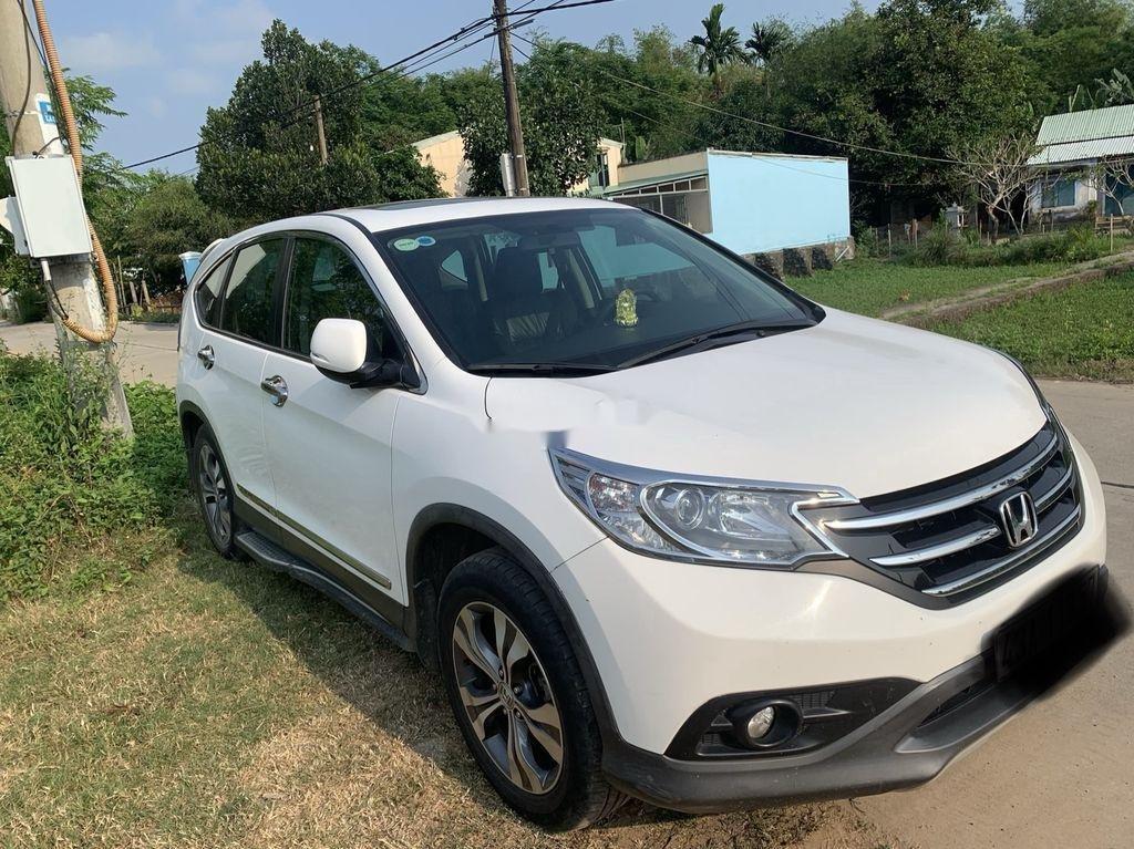 Cần bán lại xe Honda CR V đời 2014, màu trắng xe gia đình