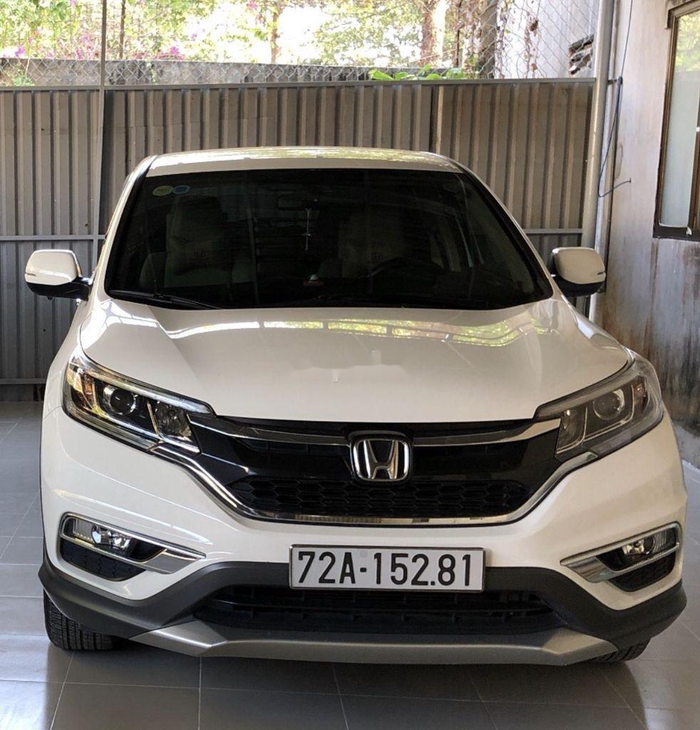Cần bán Honda CR V năm sản xuất 2015, màu trắng như mới, 755 triệu