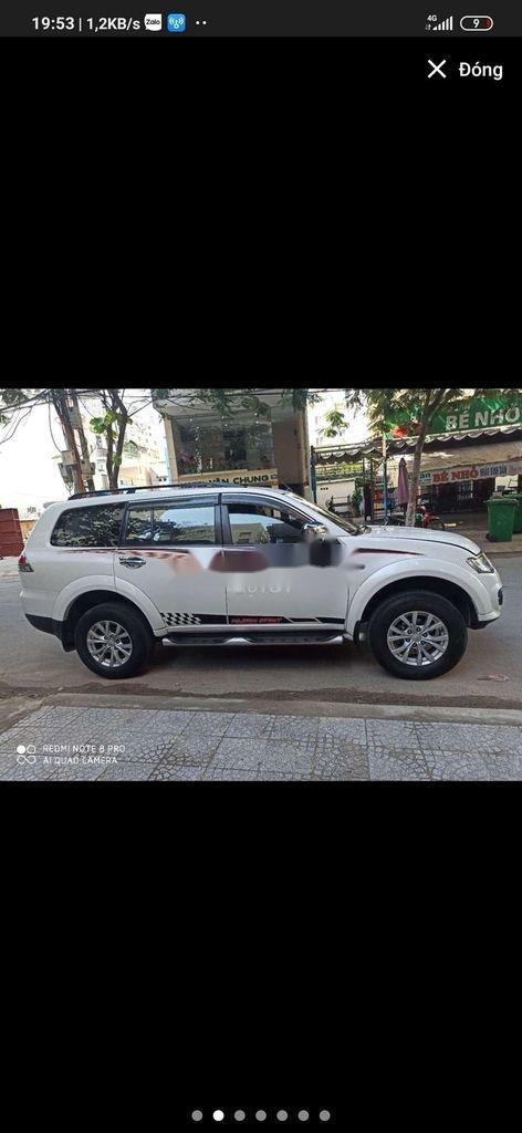 Xe Mitsubishi Pajero sản xuất 2017, màu trắng, nhập khẩu