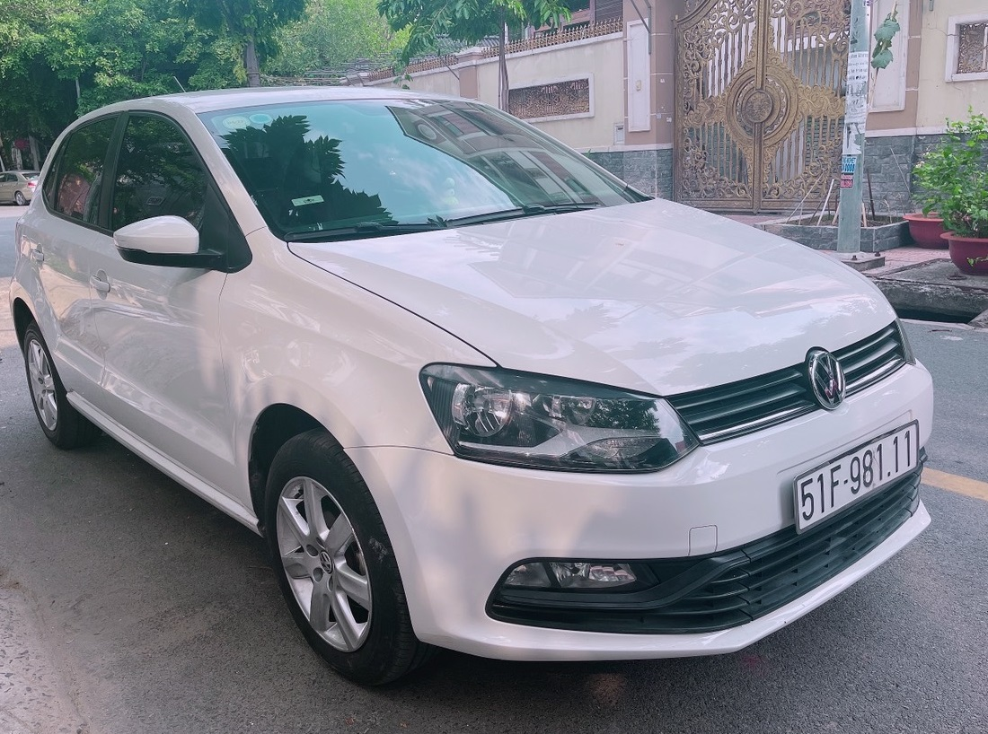 Volkswagen Polo bản 1.6 AT nhập Ấn Độ, Model 2017