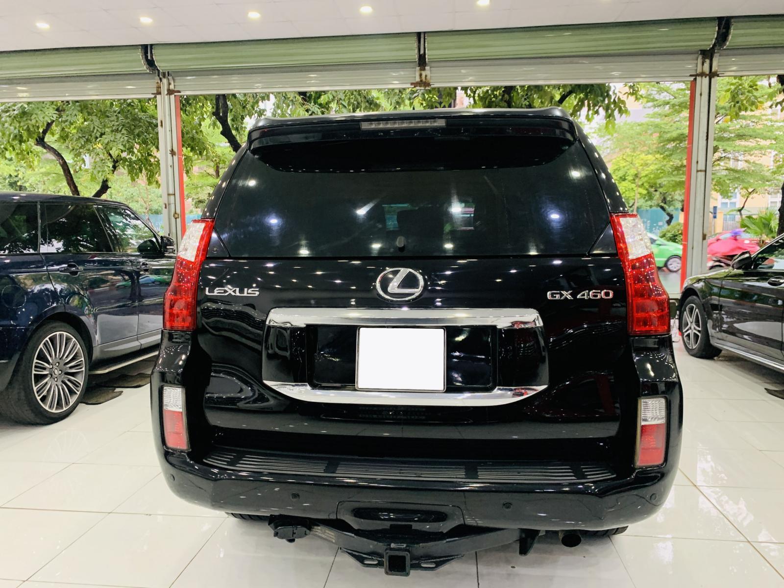 Bán ô tô Lexus GX460 đời 2010, màu đen, nhập khẩu nguyên chiếc