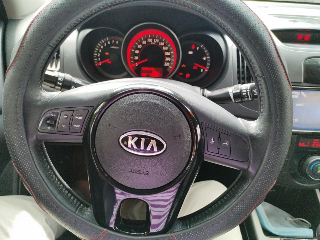 Nhập khẩu - Kia Forte 2009 - màu đen- 1 chủ đi giữ gìn!