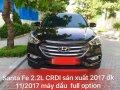 Bán Santa Fe 2.2L CRDI máy dầu, sản xuất 2017 đăng ký 11/2017 bản đủ đồ đẹp hết nấc giá 1 tỷ 75 tr tại Hà Nội