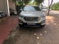 Bán ô tô Hyundai Santa Fe 2.4 2016, bản full màu trắng, biển Hà Nội giá 869 triệu tại Hà Nội