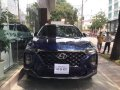Bán Hyundai Santa Fe sản xuất năm 2019, màu xanh lam, nhập khẩu  giá 999 triệu tại Tp.HCM