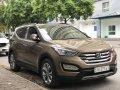 Cần bán xe Hyundai Santa Fe đời 2015, màu nâu giá cạnh tranh giá 800 triệu tại Hà Nội