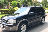 Cần bán lại xe Ford Escape 2.3L đời 2007, màu đen, xe gia đình giá 369 triệu tại Tp.HCM