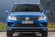 Cần bán xe Volkswagen Touareg GP 2016, màu xanh lam, nhập khẩu giá 2 tỷ 499 tr tại Ninh Thuận