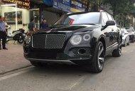 Cần bán xe Bentley Bentayga First Edition đời 2017, màu đen, xe nhập khẩu giá 9 tỷ 500 tr tại Hà Nội