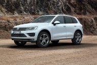 Bán ô tô Volkswagen Touareg GP sản xuất 2016, màu trắng, nhập khẩu nguyên chiếc giá 2 tỷ 499 tr tại Tp.HCM