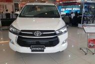 Bán xe Toyota Innova 2.0E 2017, màu trắng, hỗ trợ mua xe trả góp 85% giá 743 triệu tại Hà Nội